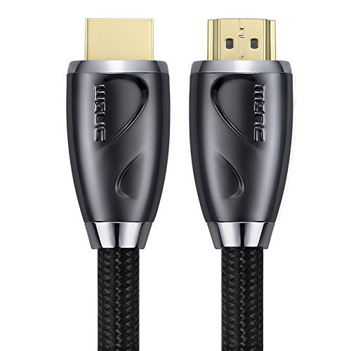 4K Ultra HD HDMI Cable 35 Feet by MINC - High Speed HDMI 2.0 Supports 4K 60hz, 1080p 240hz, 3D 120hz, HDCP 2.2 and ARC - 26AWG and CL3 Rated