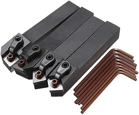 Qualitäts-CNC-Drehmaschine Werkzeug-Zubehör MCMNN1616H12 MCGNR1616H12 MCMNN1616H12 MCGNL1616K12 Drehmaschine Drehwerkzeughalter mit 8pcs Schlüssel