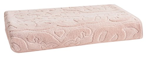 (LOFT by Loftex 91023 Trellis Sculpted Jacquard Bath Towel, 30