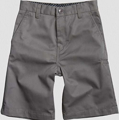 Fox Head - Kids Big Boys' Essex Solid Walkshort, Grey, 26 (Basic Essex Short)