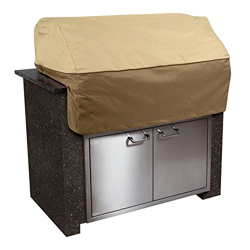 Classic Accessories Veranda Cover For Built-In Grills, X-Small, Pebble (Renewed)