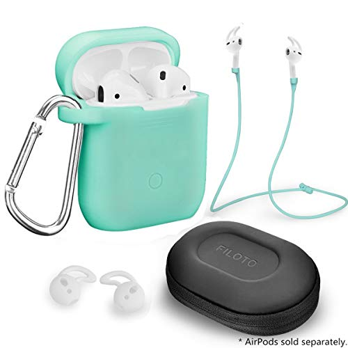 Airpods Accessories Set, Filoto Airpods Waterproof
