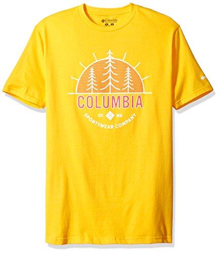 Columbia Apparel Men's Hef T-Shirt, Stinger, Medium