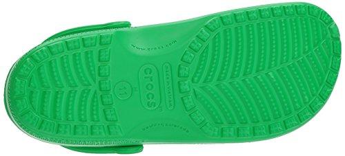 – Sabot U Adulto 3e8 Unisex Verde Green Crocs Classic grass qTPw4