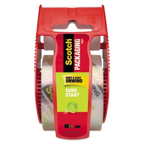 (Scotch 145 Sure Start Packaging Tape, 1.88