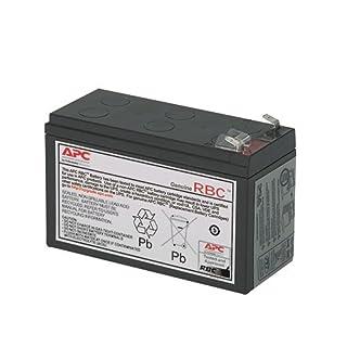 APC APCRBC154 Battery Replacement for Back-UPS Models BE600M1, BE670M1, BN675M1, Black