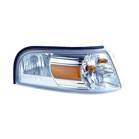 2008 Marquis (Mercury Grand Marquis 2006-2010 Parking/Side Marker Light Assembly Passenger Side (CAPA Certified) FO2527103C)