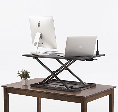 jack Standing desk converter 32 X 22 inch Extra large Ergonomic