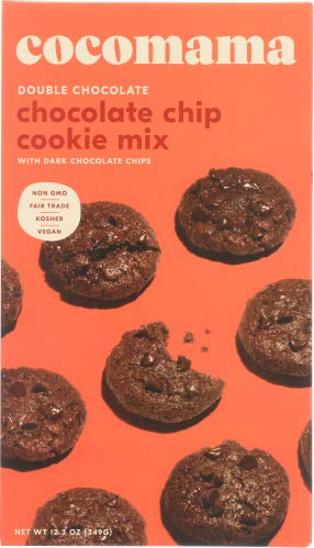 Cisse Cocoa Co Mix Cookie Double Chocolate Chip 12.28 OZ ( Pack of 12)