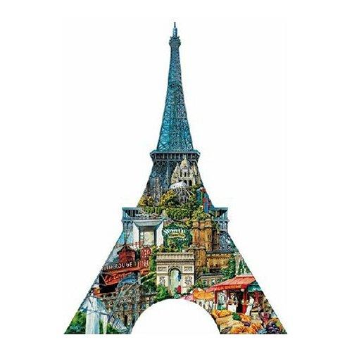 FX Schmidt Eiffel Tower Shaped 1000 Piece Jigsaw Puzzle