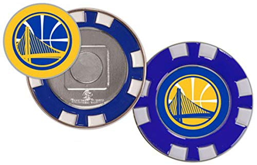 - McArthur NBA Golden State Warriors Golf Poker Chip (with Removable Ball Marker)