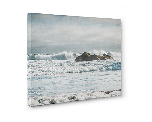 Large Format Print, Canvas or Unframed, Seascape Photography, Coastal Wall Art, Nautical Ocean Waves Decor, Surf and Rocks'