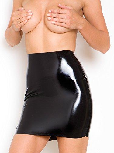 Size EU in Moulded Rubber Women's Raw 40 Noir Skirt M wYA0wIx