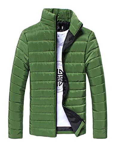Warm 3 Stand Collar Men's security Lightweight Down Winter Jacket Slim Fit ZwEBvqxf
