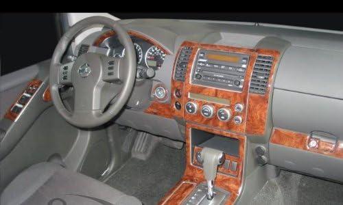 nissan pathfinder interior burl wood dash trim kit set 2008 2009 2010 2011 2012 interior amazon canada nissan pathfinder interior burl wood