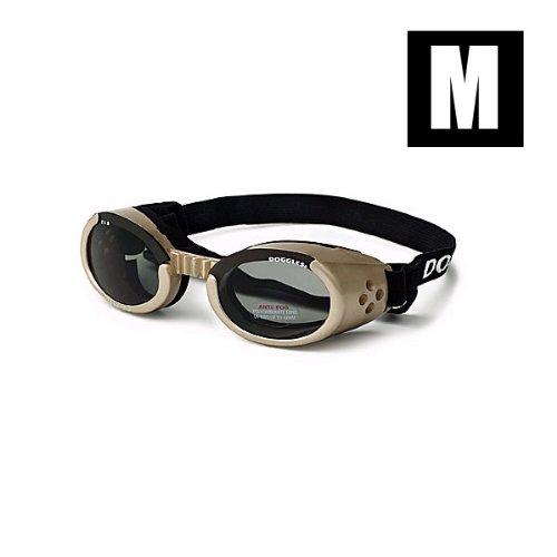 DogglesILS Medium Chrome Frame and Smoke Lens, My Pet Supplies