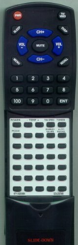 LG Replacement Remote Control for LWHD1807HR, WG2400R, LW1011ER, 6711A90019B