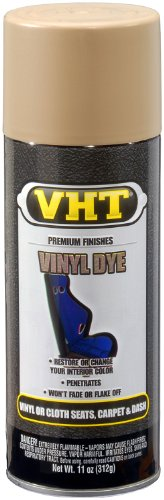 VHT ESP944000 Vinyl Dye Buckskin Tan Satin Can - 11 oz.