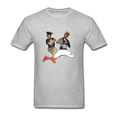 RrelmY Men's Rae Sremmurd Funny T shirts