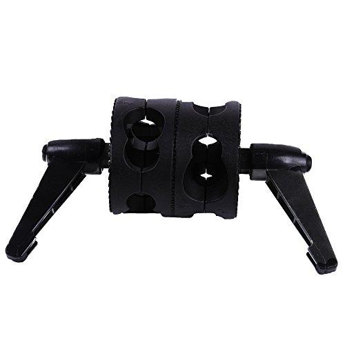 Gobo Head (Fotga Dual Head Grip Swivel Head Clamp Holder for Reflector Studio Boom Arm photograph)