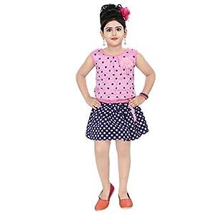 Chandrika Girls' Knee Length Dress...