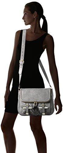 ALDO Earlington, Bolso de Mochila para Mujer, Gris (Grey/12), 14x30x38 cm (B x H x T)