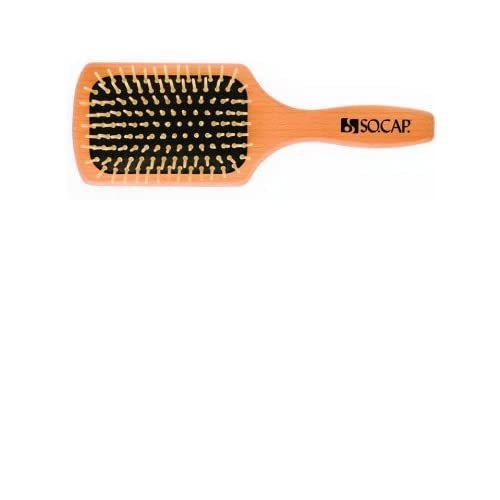 BRUSH - Large Paddle Brush, By SOCAP.USA, Made in Italy supplier