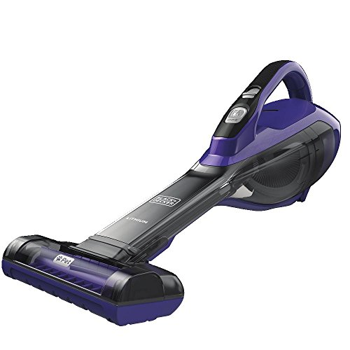 BLACK+DECKER HLVA325JP07 Lithium Pet Hand Vac, Purple, Pet Purple