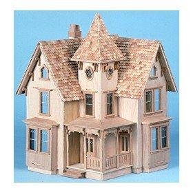 Corona Dollhouse Kit (The Greenleaf Fairfield Dollhouse Kit by Greenleaf Corona Concepts)