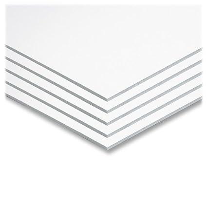 """Pacon Foam Board, 22"""" X 28"""", White (5557), Set of 5"""