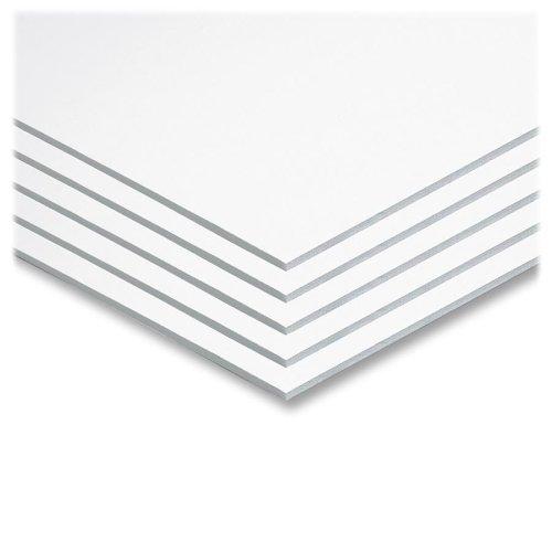 Wholesale CASE of 10 - Pacon Original Fome-Cor Foam Graphic Art Boards-Foam Board, 22''x28'', 5/CT, White