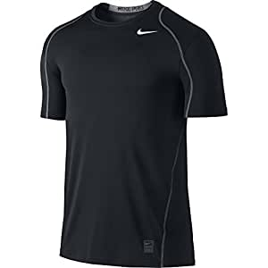 Amazon.com  NIKE Men s Pro Fitted Short Sleeve Shirt  Sports   Outdoors f3b412ce1b8f