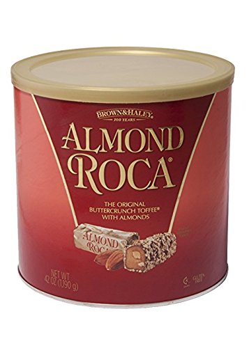 Brown & Haley Toffee (Almond Roca Canister, 42 oz)