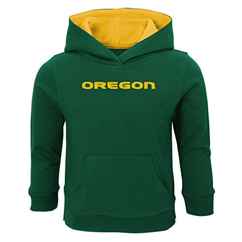NCAA Oregon Ducks Infant Prime Fleece Hoodie, 12 Months, Dark -