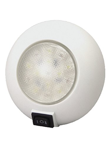 TH Marine LED-51830-DP Dome Light with Switch, Red/White