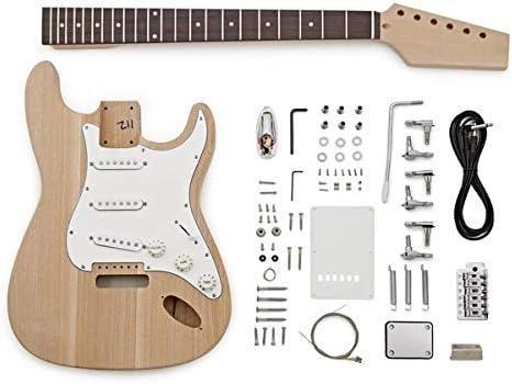 Kit de Bricolaje de Guitarra Electrica LA - Cuerpo de Fresno ...