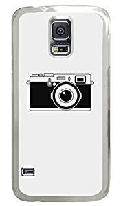 The Camera PC Transparent Hard Case Cover Skin For Samsung Galaxy S5 I9600 by lolosakes