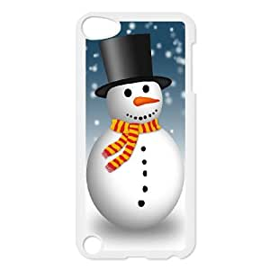 Snowman iPod Touch 5 Case White Phone cover M8819846