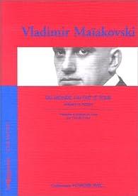 Voyager avec Maiakovski - Du monde j'ai fait le tour par Vladimir Maïakovski