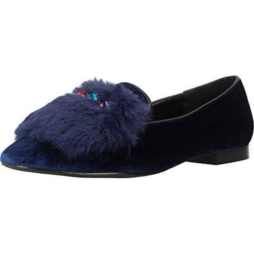 Moccasins for women, colour Blue , brand CAFENOIR, model Moccasins For Women CAFENOIR ED924 Blue