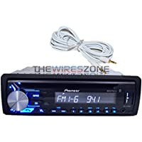 Pioneer DEH-X3900BT CD Bluetooth iPhone Pandora Car Receiver + FREE AUX Cable