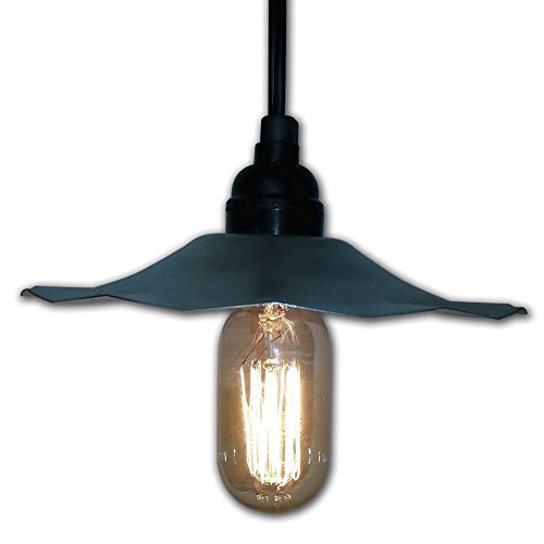 Galvanized Pendant Light Shades - 4