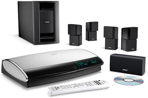 BOSE R 5.1 Lifestyle 38 Series III DVD Home Entertainment System Black