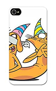 Inthebeauty Case Cover Catdog/ Fashionable Case For Iphone 5/5s