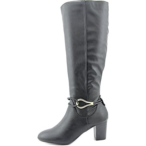 Black US Scott Boot Women Gaffar Karen High 5 6 Knee vYqfATw