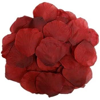 BalsaCircle 4000 Silk Rose Artificial Petals Supplies Wedding Decorations