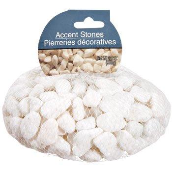 White Stone - White Accent Rocks, 32 oz. bag