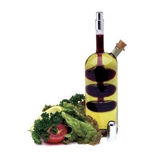 Norpro 796 Handblown Glass Oil Vinegar Cruet with Spritzer (Norpro Oil Sprayer)