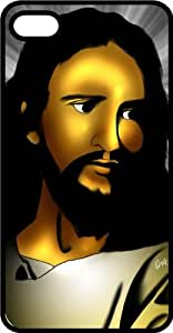 Our Savior Lord Jesus Christ From The Bible Black pc Case for Apple iPhone 5 or iPhone 5s