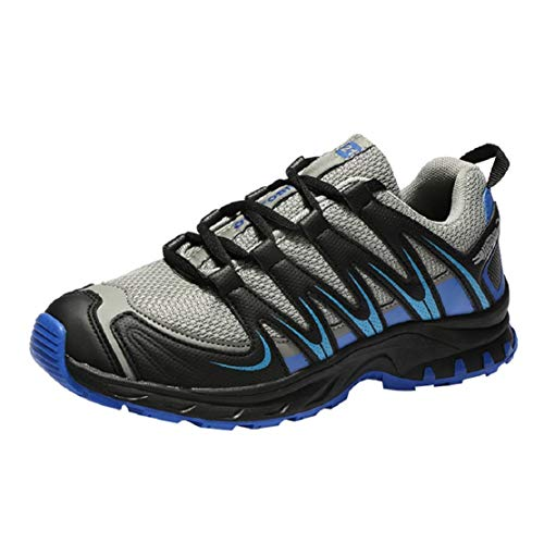 Men Waterproof Hiking Shoes Running Shoes Trail Runner Cross Trainers by Lowprofile -